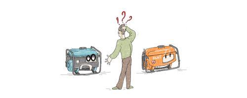 Какой лучше купить генератор? Дизельный или бензиновый?