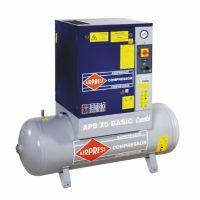 Роторный компрессор APS Maxi Combi Dry 7.5 / 10 500 V400 ST