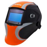 Сварочная маска-хамелеон ARTOTIC SUN7B чёрно-оранжевый (3 наружных и 1 внутренняя слюда в комплекте)