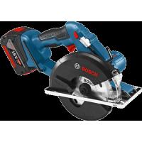 Аккумуляторная циркулярная пила Bosch GKM 18 V-LI