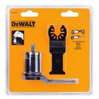 Адаптер насадок DeWALT с двумя полотнами по дереву ( DT20701 и DT20704 ) для многофункциональных инcтрументов Bosch , Makita .