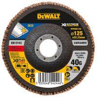 Круг шлифовальный лепестковый изогнутый DeWALT DT99583