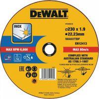 Круг отрезной DeWALT DT43909 INOX по металлу (230 мм)