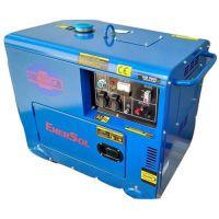 Дизельный генератор однофазный 6кВА EnerSol SDS-6E
