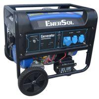 Бензиновый генератор однофазный 8кВА EnerSol SG-8E(B)