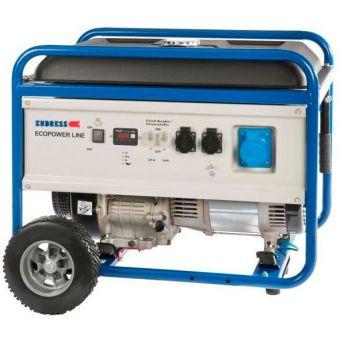 Бензиновый генератор Endress ESE 6000 DBS ES с набором колёс