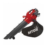 Бензиновый садовый пылесос MTD BV3000 G