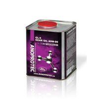 Минеральное трансмиссионное масло Nanoprotec Gear Oil80W-90 GL-5