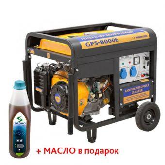 Бензиновый генератор SADKO GPS 8000 с электростартером