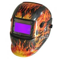Сварочная маска-хамелеон Титан S777b (пламя)