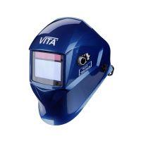 Сварочная маска хамелеон VITA TIG 3-A True Color (металлические соты синие)